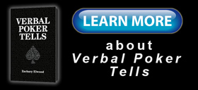 Learn more about the book Verbal Poker Tells